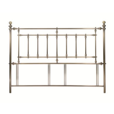 Bentley Designs Imperial Superking Headboard in Brass