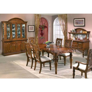 Orleans Cherry Extending Dining Room Set Furniture123