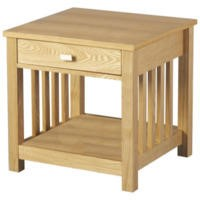Seconique Ashmore 1 Drawer Lamp Table