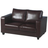 Seconique Tempo 2 Seater Sofa in Brown