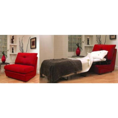 Buoyant Upholstery Vogue Chair Bed - gizmo chocolate