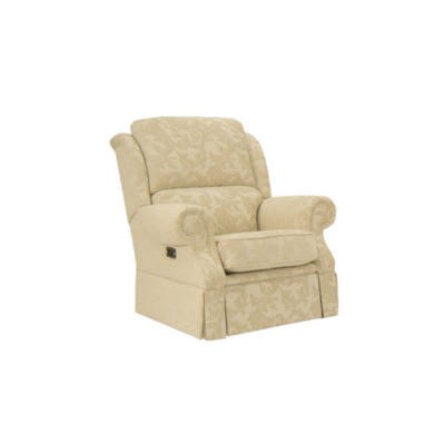 Buoyant Upholstery Park Lane Recliner Armchair - acanthus cream