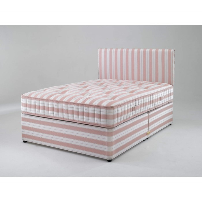 Dreamworks beds small double cambridge 1000 contract divan for Divan and mattress set