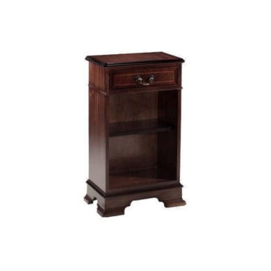 FOL057966 Kelvin Furniture Georgian Reproduction 1 Drawer Bookcase - mahogany