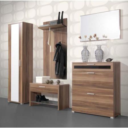 Germania Mediano Hallway Furniture Set 1 In Walnut Furniture123