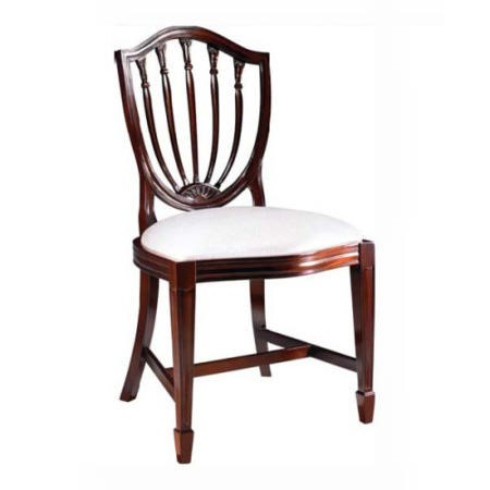 furniture georgian reproduction slat back dining chairs in mahogany