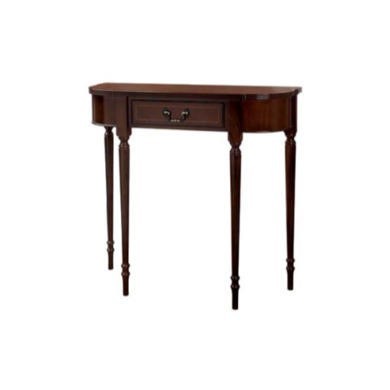 Kelvin Furniture Georgian Reproduction 1 Drawer Console Table in Mahogany