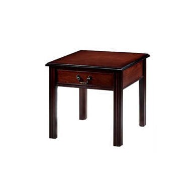 FOL058129 Kelvin Furniture Georgian Reproduction 1 Drawer Side Table - mahogany