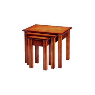 Kelvin Furniture Georgian Reproduction Nest of Tables in Yew