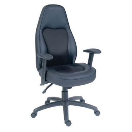 Teknik Office Rapoto Extra Large Leather Executive Chair