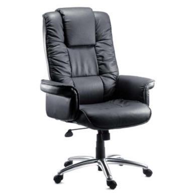 Teknik Office Loman Leather Faced Executive Chair