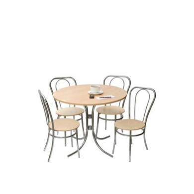 Teknik Office Bella Deluxe Round Bistro Dining Set