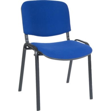 Teknik Office Hayley Stacking Conference Chair  blue