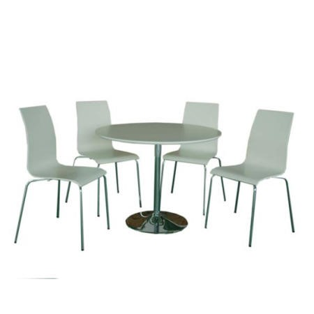 LPD Limited LPD Soho White Round Dining Table