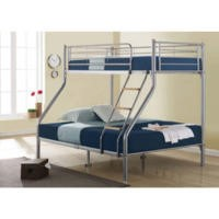 Birlea Furniture Nexus Triple Sleeper Metal Bunk Bed