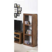 Heritage Furniture UK Laguna Sheesham 3 Hole Narrow Display Unit