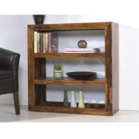 Heritage Furniture UK Laguna Sheesham 3 Hole Wide Display Unit
