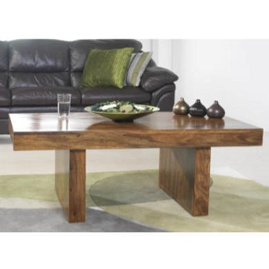 Heritage Furniture UK Laguna Sheesham Twin Pedestal Coffee Table