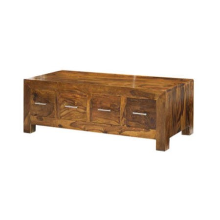 Laguna Sheesham 8 Drawer Coffee Table