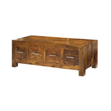 Heritage Furniture UK Laguna Sheesham 8 Drawer Coffee Table