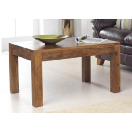 Laguna Sheesham Cube Square Coffee Table
