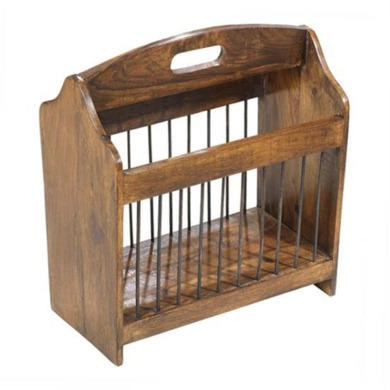 Heritage Furniture UK Laguna Sheesham Magazine Rack
