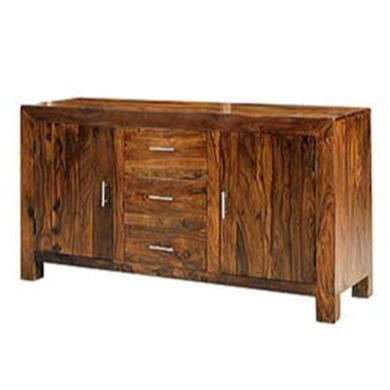Heritage Furniture UK Laguna Sheesham 3 Door Sideboard