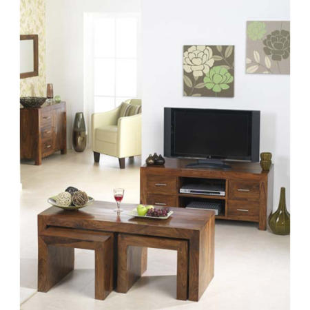 Heritage furniture uk laguna sheesham 4 piece living room for 4 piece living room set