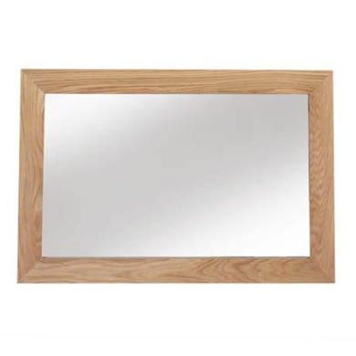 FOL060554 Heritage Furniture UK Laguna Oak Medium Landscape Mirror