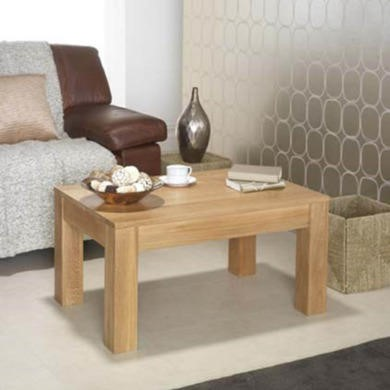 Heritage Furniture UK Laguna Oak Rectangular Coffee Table