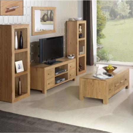 Heritage furniture uk laguna oak 5 piece living room set for 5 piece living room table set