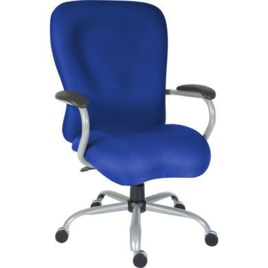 Teknik Office Tobias Heavy Duty Operators Chair  blue