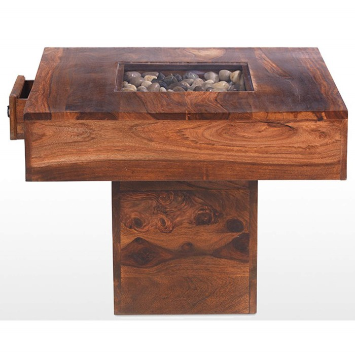 Heritage furniture uk delhi indian pebble rectangular for Coffee table 60cm x 60cm