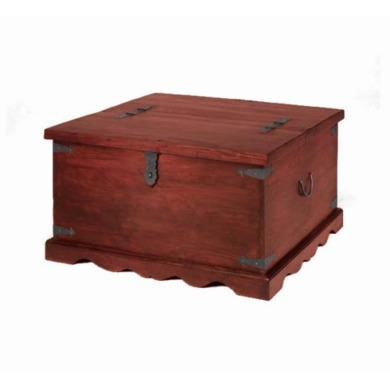 Heritage Furniture UK Delhi Indian Square Coffee Trunk