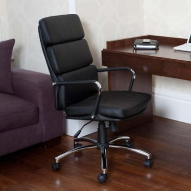 FOL061138 Teknik Office Miller Black Executive Chair