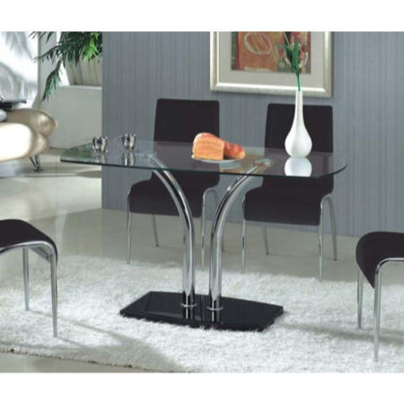Sansapote Glass Dining Table Furniture123