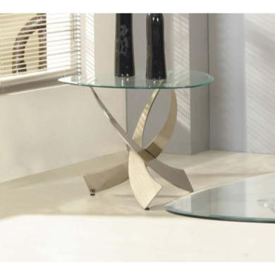 Exclusive UK Mystique Triangular Side Table