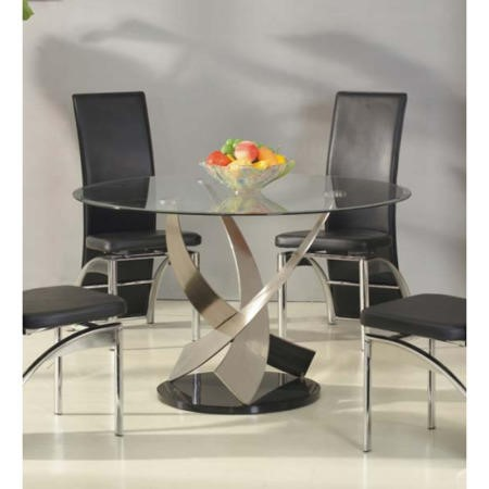 Exclusive Uk Mystique Round Dining Table Furniture123