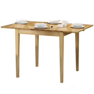 Julian bowen rufford square extending dining table for Furniture 123