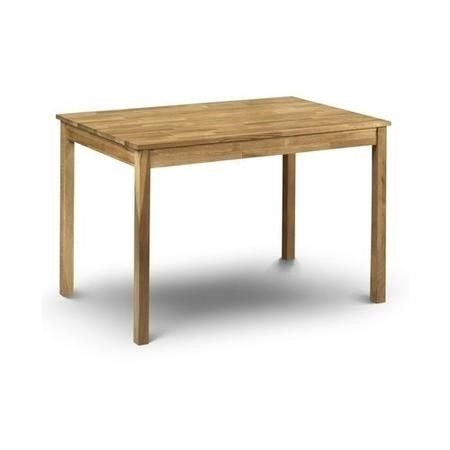 Julian Bowen Coxmoor Solid Oak Rectangular Dining Table
