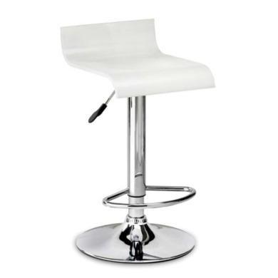 Julian Bowen Stratos Single Bar Stool in White