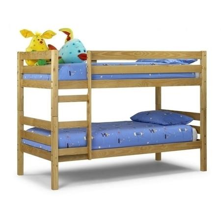 Julian Bowen Wyoming Solid Pine Bunk Bed