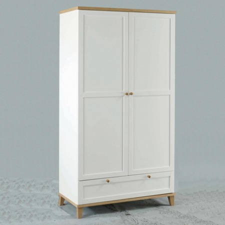 LPD Boston 2 Door 1 Drawer Wardrobe
