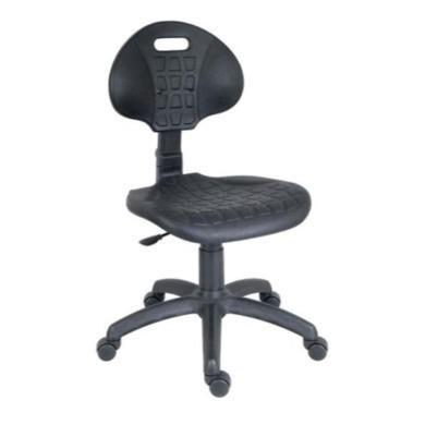 Teknik Office Industrial Operators Chair with Hinged Tilt Backrest