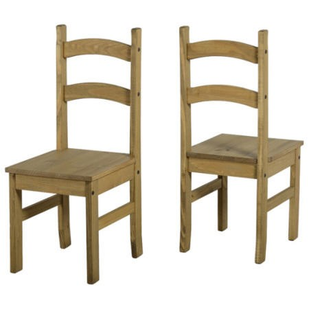 Seconique Mexican Dining Chairs Set Of Four Furniture123