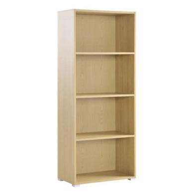 Dams Furniture Eco Tall Bookcase in Oak