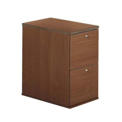 Dams Furniture Eco 2 Drawer Filing Cabinet in Walnut
