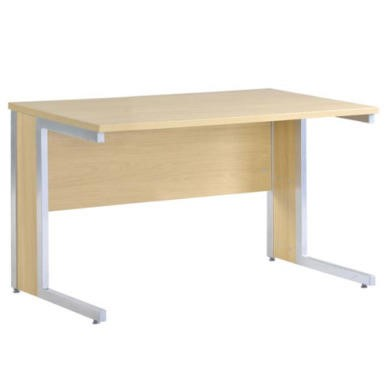 Dams Furniture Dynamic Wide Desk in Oak