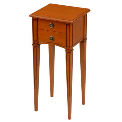 Origin Red Gloucester 2 Drawer Hall Table in Teak