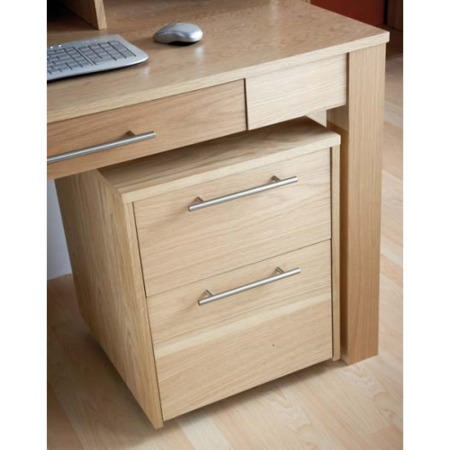Alphason Designs Oakwood 2 Drawer Chest